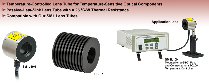 Temperature-Controlled Lens Tubes