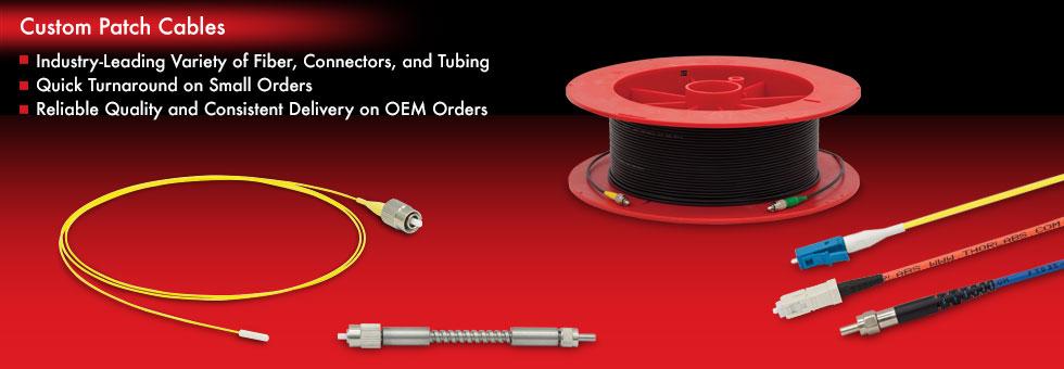 Custom Fiber Optic Patch Cables