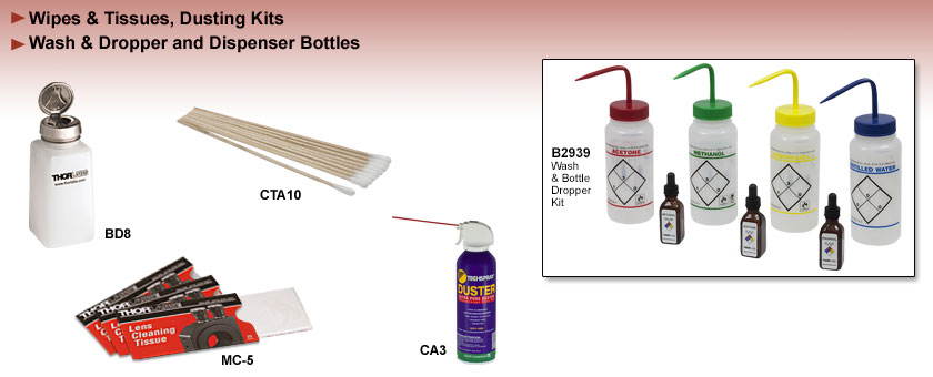 Optic Cleaning Supplies