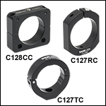 Slip Rings and Clampsfor Aluminum Lens Tube Covers
