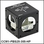 Cube-Mounted High Power Laser-Line Polarizing Beamsplitters