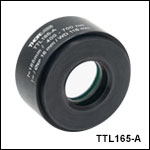 f = 165 mm Tube Lens for Widefield Imaging
