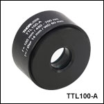 f = 100 mm Tube Lens for Widefield Imaging