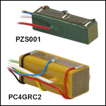 Co-Fired Stack Actuators with Attached Strain Gauges