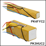 Discrete Stack Actuators with Attached Strain Gauges