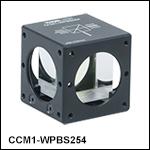 Cube-Mounted Wire Grid Beamsplitters