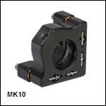 Ø10 mm Mini-Series Kinematic Mirror Mount
