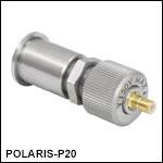 Piezoelectric Actuator with Bushing, 3/8inTravel