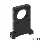 SM1-Threaded 30 mm Cage Plate for 66 mm Rails