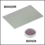50:50 Plate Beamsplitters