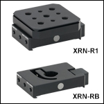 Adapter Plate for Stage Rotation