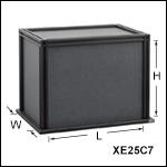 Black Hardboard Enclosures