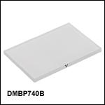 Multi-BandDichroic Mirror/Beamsplitter: 740 nm Cutoff Wavelength