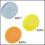 Fluorescent Alignment Disks with Target Guides