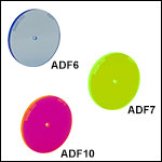 Fluorescent Alignment Disks with Holes
