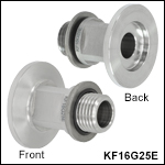 KF16 Flange to G1/4in Thread Adapter