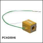 Square 150 V Piezoelectric Actuator with Through Hole