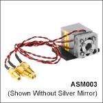 Ø7.0 mm Kinematic Mirror Mount with Piezo Adjusters