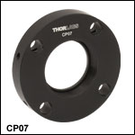 Ø2in Round Cage Plates (30 mm Cage and SM1 Compatible)