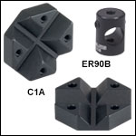 ER Cross Couplers for 30 mm and 60 mm Cage Systems