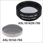 High-Precision, CNC Polished Aspheric Lenses, 780 nm V Coating