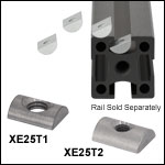 Drop-In T-Nuts for 25 mm Rails