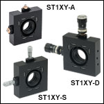 6mm Travel XY Translation Mounts