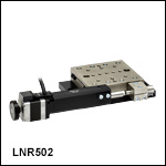 50 mm (1.97in) TravelMax Translation Stage without Optical Encoder