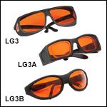 Laser Safety Glasses: 48% Visible Light Transmission