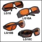 Laser Safety Glasses: 35% Visible Light Transmission