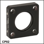 SM1-Threaded Standard Cage Plates