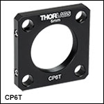SM1-Threaded 30 mm Cage Plate, Not Post Mountable