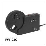 6-Position Motorized Filter Wheels for Ø1in (Ø25 mm) Optics