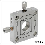 XY Flexure Translation Mount, 30 mm Cage Compatible