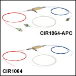 SM Fiber Optical Circulators, 1064 nm