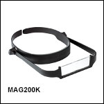 Head-Worn Magnifier