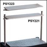 ScienceDesk Overhead Shelves