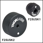 1/4in-100 Removable Adjustment Knobs