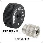 M2.5 x 0.20 Removable Adjustment Knobs