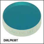 Longpass Dichroic Mirrors/Beamsplitters: 638 nm Cut-On Wavelength