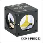 Cube-Mounted Polarizing Beamsplitting Cubes