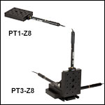 25 mm (0.98in) Motorized Translation Stages
