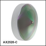 Axicons (AR Coated: 1050 - 1700 nm)