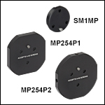 Ø1in Off-Axis Parabolic Mirror Mount and Mounting Adapters