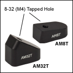 Tapped Post Mounting Angle Blocks