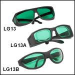 Laser Safety Glasses: 39% Visible Light Transmission