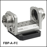 Adjustable U-Benches for FC/PC and FC/APC Connectors