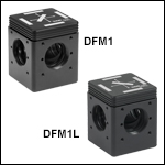 30 mm Cage-Compatible, Kinematic Fluorescence Filter Cubes