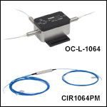 PM Optical Circulators, 1064 nm