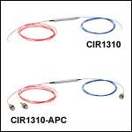 SM Fiber Optical Circulators, 1310 nm